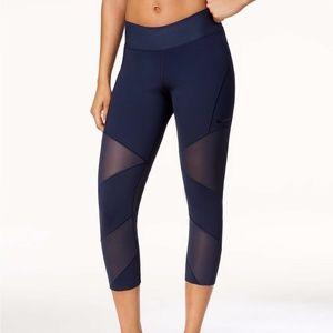 Nike black workout dri-fit leggings w/ sheer 1x